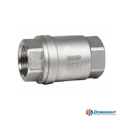 Клапан обратный муфтовый AISI316  1/2''  Ду15