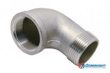 Отвод нержавеющий 90гр вн-нар AISI304 Ду65 (2 1/2'', 76,1мм)